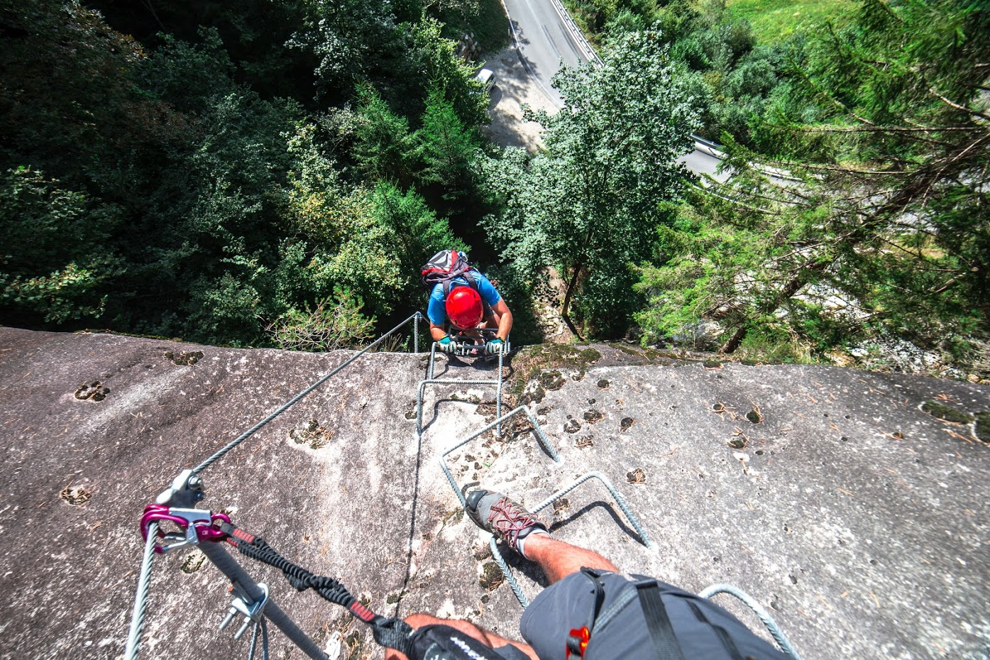 Ferrata Val di Scala